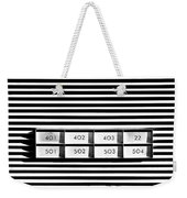 22 Odd One Out Weekender Tote Bag