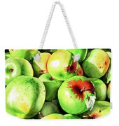 #227 Green Apples Weekender Tote Bag