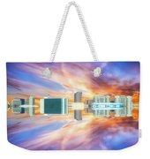 22nd Century Floating Cities Sunrise 01 Weekender Tote Bag