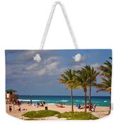 23- A Day At The Beach Weekender Tote Bag