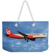 Air Berlin Airbus A320-214 Weekender Tote Bag