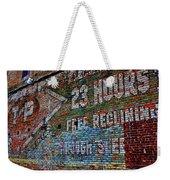 23 Hours Weekender Tote Bag