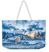 Beautiful Nature And Scenery Around Snowshoe Ski Resort In Cass  Weekender Tote Bag