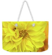 Closeup Of A Colourful Flower Weekender Tote Bag