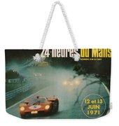 24 Hours Of Le Mans - 1971 Weekender Tote Bag