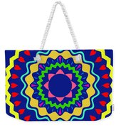 Mandala Ornament Weekender Tote Bag