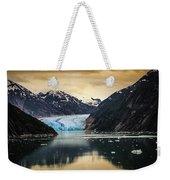 Sawyer Glacier At Tracy Arm Fjord In Alaska Panhandle Weekender Tote Bag