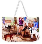 #258 Rruff Dog Park Weekender Tote Bag