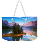 Nature Art Landscape Weekender Tote Bag