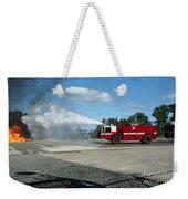 Firefighting Weekender Tote Bag