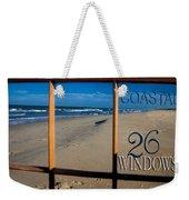 26 Windows Coastal Weekender Tote Bag