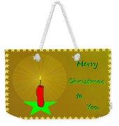 2611 Merry Christmas To You 2018 Weekender Tote Bag