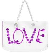 2612 Love 2018 Weekender Tote Bag
