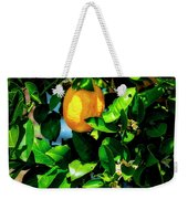 2644- Lemon Tree Weekender Tote Bag