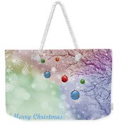 Christmas Weekender Tote Bag