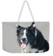 Dog Weekender Tote Bag