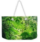 Jungle Leaves Weekender Tote Bag