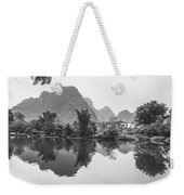 Yulong River Scenery Weekender Tote Bag