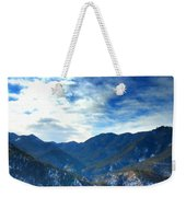 Lake Landscape Weekender Tote Bag