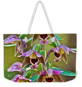 Helleborine On North Country Trail In Pictured Rocks National Lakeshore-michigan  Weekender Tote Bag