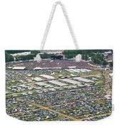 Bonnaroo Music Festival Aerial Photography Weekender Tote Bag