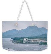 Scenery Around Alaskan Town Of Ketchikan Weekender Tote Bag