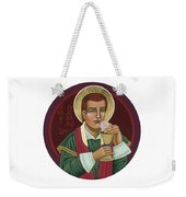 297 Holy Martyr Blessed William Hart -1583 Weekender Tote Bag by William Hart McNichols