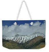 2d07509 High Peaks In Lost River Range Weekender Tote Bag