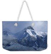 2d07513 Fresh Snow On Mt. Mccaleb Weekender Tote Bag