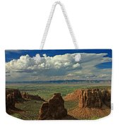 2d10338 Thunderhead Over Independence Monument Weekender Tote Bag
