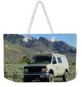 2da5944-dc Our Sportsmobile At Steens Mountain Weekender Tote Bag