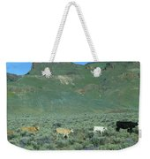 2da5946-dc Cattle On Steens Mountain Weekender Tote Bag
