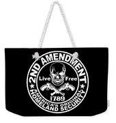2nd Amendment Weekender Tote Bag