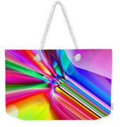 2x1 Abstract 303 Weekender Tote Bag