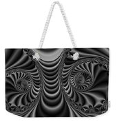 2x1 Abstract 435 Bw Weekender Tote Bag