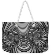 2x1 Abstract 436 Bw Weekender Tote Bag