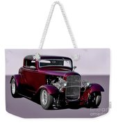 1932 Ford 'three Window' Coupe   Weekender Tote Bag