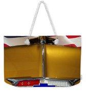 1954 Chevrolet Hood Emblem Weekender Tote Bag