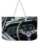 1966 Ford Mustang Cobra Steering Wheel Weekender Tote Bag