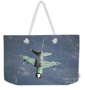 A Bulgarian Air Force Mig-21bis Armed Weekender Tote Bag