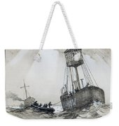 A Lightship's Xmas Dinner Weekender Tote Bag