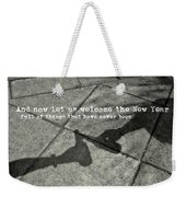 Friendship Toast Quote Weekender Tote Bag