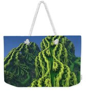 Abstract Fractal Landscape Weekender Tote Bag