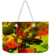 Abstract Landscape, Fall Theme Weekender Tote Bag