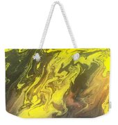 Abstract Pour  Weekender Tote Bag