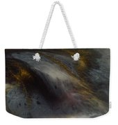 Abstract Resin Pour Weekender Tote Bag by Sonya Wilson