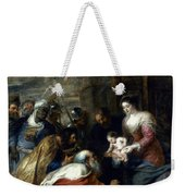 Adoration Of The Magi Weekender Tote Bag by Granger