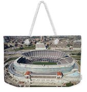 Aerial View Of A Stadium, Soldier Weekender Tote Bag