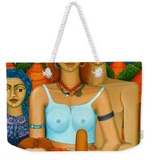 3 Ages Of A Woman And A Man Weekender Tote Bag
