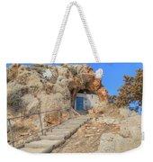 Agioi Saranta Cave Church - Cyprus Weekender Tote Bag